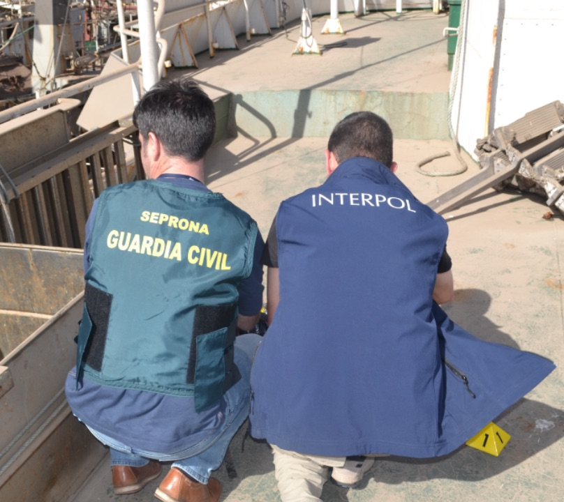 LA GUARDIA CIVIL MARGINADA EN ORGANISMOS INTERNACIONALES